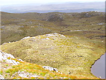NH2630 : Rocky plateau east of Carn Loch na Gobhlaig above Glen Affric by ian shiell