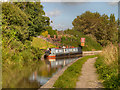 SJ6475 : Trent and Mersey Canal, Stanley Arms by David Dixon
