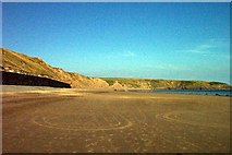 SH1726 : Porth Aberdaron on a summer's eve by Tom Hindley