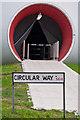 TQ4277 : Circular Way, circular way in by Ian Capper