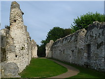 TQ4109 : Ruins of the Priory of St Pancras, Lewes - the later toilet block by Marathon
