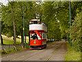 SD8303 : Stockport Tram, Heaton Park Tramway by David Dixon