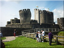 ST1587 : Caerphilly Castle by John Sparshatt