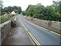 SO0727 : Narrow roadway across Lock Road Bridge, Cefn Brynich by Jaggery