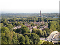 SD7208 : View from St Peter's Church Tower by David Dixon