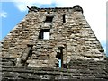 NO5116 : St Andrews - Castle - View up the Fore Tower by Rob Farrow