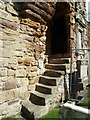 NO5116 : St Andrews Cathedral - steps in the wall by Rob Farrow