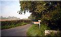 SZ0179 : Road to Herston Halt by Des Blenkinsopp