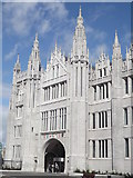 NJ9406 : Marischal College Main Gate by Colin Smith
