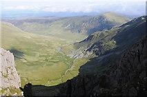 SH6963 : View into Cwm Eigiau by Philip Halling