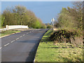 SP2086 : Packington Lane going south over M6 with rabbits by Robin Stott