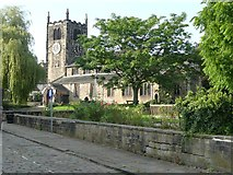 SE1039 : All Saints Church, Old Main Street, Bingley by Humphrey Bolton
