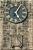 SE1039 : Clock and sundial on All Saints Church by Humphrey Bolton
