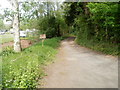 SO4510 : Lane to The Mill Farm near Dingestow by Jaggery