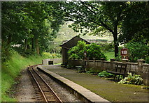 SD1499 : Eskdale Green Railway Station by Peter Trimming