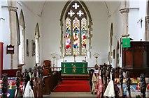 TL8866 : Holy Innocents, Great Barton - Chancel by John Salmon