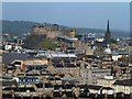 NT2573 : Edinburgh Castle from Salisbury Crags by David Smith