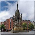 SJ8398 : Manchester, Albert  Memorial by David Dixon