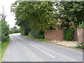 SK7850 : Cotham Lane, Hawton  by Alan Murray-Rust