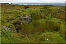 NS4379 : Old quarry by Lairich Rig