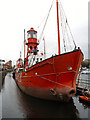 SS6592 : Helwick Lightship LV91, Swansea South Dock by David Dixon