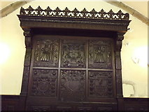 NJ9406 : Carved Panels, East Kirk of St Nicholas by Colin Smith