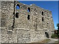 TR1457 : Canterbury Castle - southeastern façade by Rob Farrow