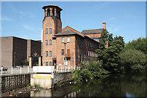 SK3536 : Derby Silk Mill by Richard Croft