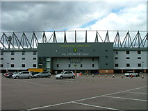 TG2407 : Carrow Road Football Stadium by Dave Fergusson
