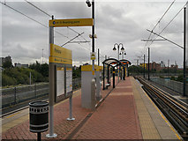 SJ8196 : Pomona Metrolink Station by David Dixon