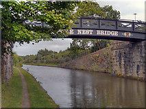SJ8196 : Throstle Nest Bridge, Bridgewater Canal by David Dixon