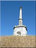TR1457 : Canterbury - Simmons memorial on Dane John Mound by Rob Farrow