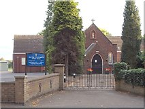 SK4003 : Our Lady & St Gregory Catholic Church - Station Road by Betty Longbottom