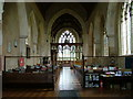 TG2536 : Interior of St. James' Church, Southrepps by Dave Fergusson