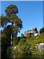 NY3603 : House at Clappersgate from the Brathay by Anthony Parkes