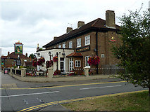 TQ1070 : The Hare and Hounds, Vicarage Road by Robin Webster