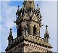 J3474 : Belfry, the Albert Clock, Belfast by Albert Bridge