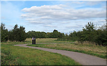 TQ5683 : Cely Woods: view from car park by Roger Jones