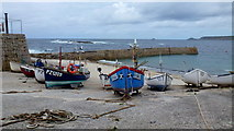 SW3526 : Harbour at Sennen Cove 1 by Jonathan Billinger