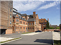 SK8054 : Former Northgate Brewery buildings  by Alan Murray-Rust