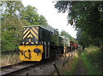SO6302 : Dean Forest Railway and footpath near St Mary halt by Gareth James