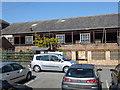 TF0920 : Wherry's Lane warehouse - demolition 1 by Bob Harvey