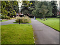 SJ8493 : Withington, Old Moat Park by David Dixon