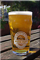 SP3279 : A pint from Wood Farm Brewery by Stephen McKay