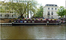 TQ2681 : Waterside cafe and information centre, Little Venice, London by Jaggery