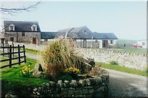 SH4765 : Cerrig y Barcud holiday cottages, Brynsiencyn by John Baker