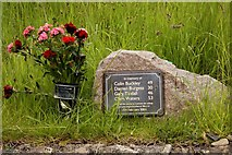 SD4970 : The Tebay accident memorial at Carnforth Station by Steve Daniels