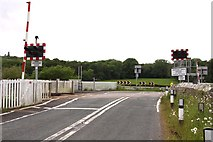 SD4774 : Silverdale Level Crossing by Steve Daniels