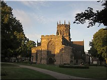 SJ9223 : Collegiate Church of St Mary, Stafford by Derek Harper