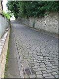 SE1421 : Rastrick - cobbles on Rosemary Lane by Dave Bevis